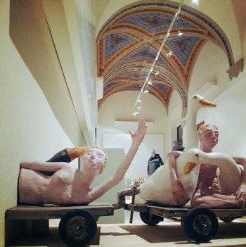 """Fuggevoli Presenze"" at SACI's Maidoff Gallery, Florence"