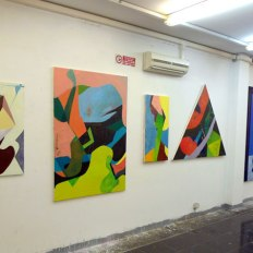 SACI Fall 2014 Advanced Painting Student Exhibition