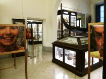 SACI's Body Archives course exhibit in Florence's Museum of Anthropology