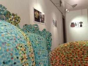 Mendini exhibition in the SACI Gallery