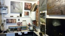 Pietro Manzo studio visit