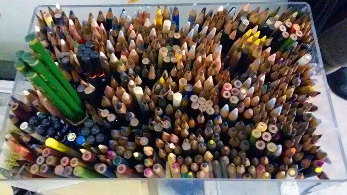 Pietro's  pencils