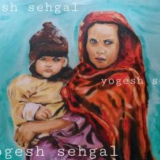 yogesh sehgal painting meri beti mera astitva