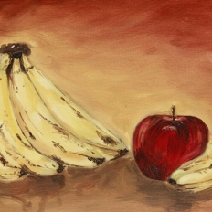 yogesh sehgal painting still life size A3