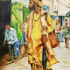 yogesh sehgal_20 x 30 _ Indian sadhu