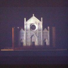 STEPHEN KAVANAGH: video still of Santa Croce