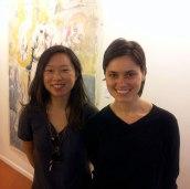 SACI students, Hana Sackler and Anastasia Soboleva