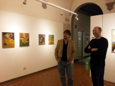 """Dialoghi dell'Arte 2014-15"" in the SACI Gallery in the SACi Gallery"