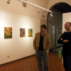 """Dialoghi dell'Arte 2014-15"" in the SACI Gallery in the SACi Gallery"