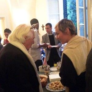 SACI Founder and Director Emeritus, Jules Maidoff and Jennifer Allora
