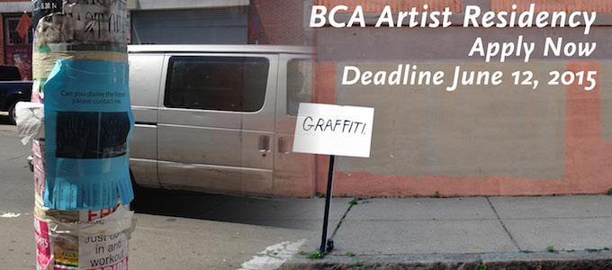BCA Artist Residency