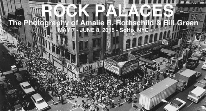 Rock Palaces of NYC: Photography of Amalie R. Rothschild & Bill Green