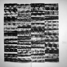 "Deborah Zlotsky, ""Alhambra,"" Alhambra design coloring book pages, printing ink, 2015"