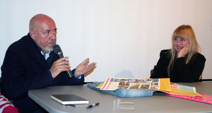 Elio Fiorucci in an interview/presentation by Laura Villani at SACI, 2010