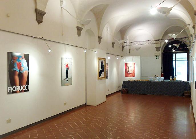 """Elio Fiorucci – Fashion Jeans Inventor """"Histoire"""" exhibition in the SACI Gallery, 2010"""