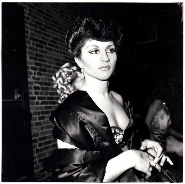 Nan Goldin: Colette in Sophie Loren drag, 1973. Courtesy of Guido Costa Projects