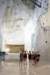 SACI scultpure class field trip to Carrara and Pietrasanta, Summer 2015