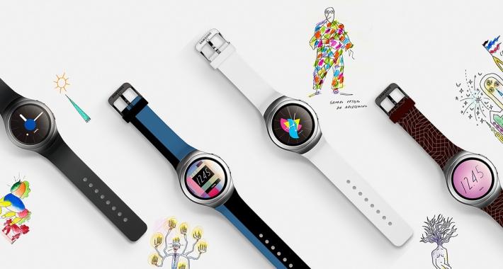 Alessandro Mendini - Samsung Gear S2 designs
