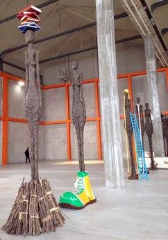 John Baldessari installation at the Prada Foundation, Milan