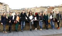SACI fine art students in Florence, Italy