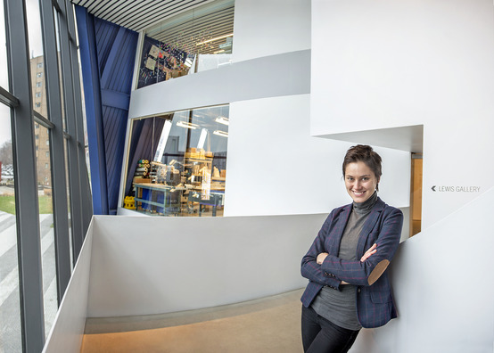 Anastasia Soboleva (Photo: Robert Muller, Cleveland Institute of Art)