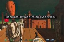 De Chirico, Savini e les Italiens de Paris