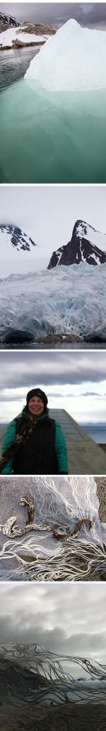 Resa Blatman in the Arctic Circle