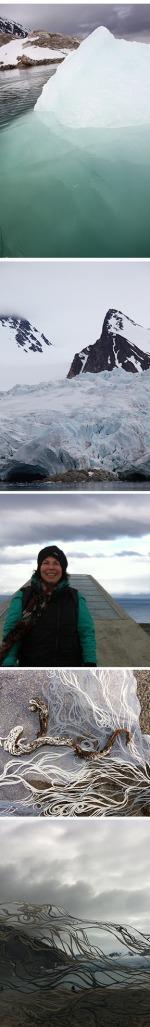 Resa Blatman in the Arctic Circle