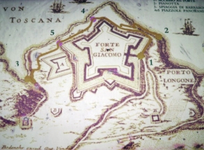 Porto Longone at the Fort of San Giacomo, Elba Island