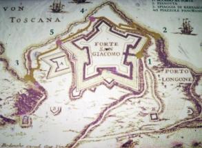 Porto Longone at the Fort of San Giacomo, Elba Island