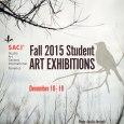SACI Fall 2015 Student Art Exhibitions