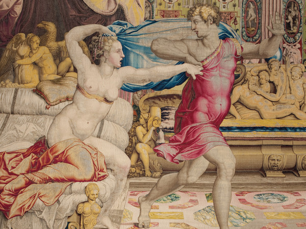 Detail of Medici tapestry