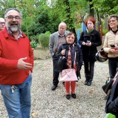 """""""Body, Theater and Diversity"""" at the botanic garden in Florence"""