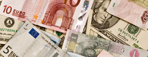 Euro-Dollar currency