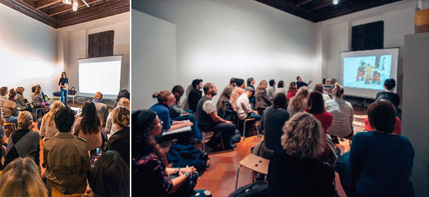 Talks by artists Nicoletta Salomon & Fabrizio Ajello at the Strozzina