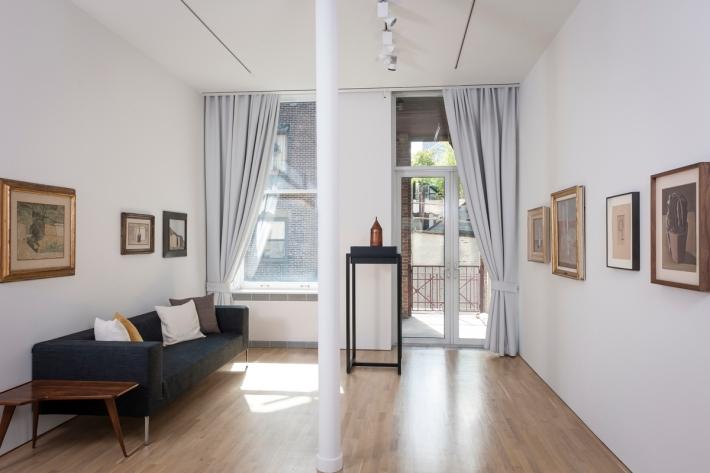 The art works of Italian artist Giorgio Morandi at the Center for Italian Modern Art (CIMA) in New York, NY. Photo credit: Walter Smalling Jr., 2015