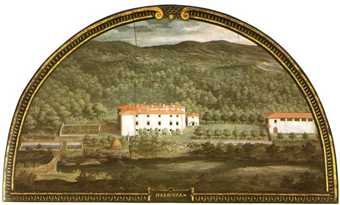 Villa Medicea di Seravezza (1599-1602) by Iustus van Utens