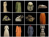 Historic fashion designs from the Bardini Museum in Florence