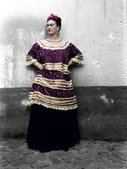 Frida Kahlo ©Eva Alejandra Matiz and The Leo Matiz Foundation