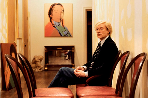 Andy Warhol photographed by Aurelio Amendola