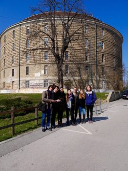 SACI's Body archives class at the Narrenturm, Museum of Pathological Anatomy, Vienna