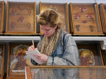 SACI student at the Josephinum, Medical University Collection, Vienna