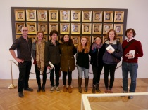 SACI's Body Archives class at the Josephinum, Medical University Collection, Vienna
