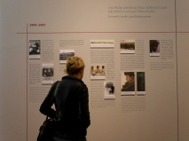 SACI student visiting the Egon Schiele exhibition, Vienna