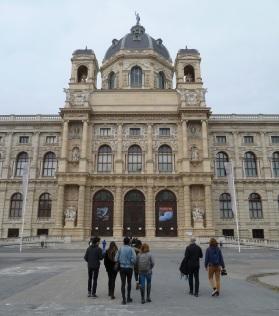 SACI students at the Museum of Natural History, Vienna