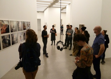 SACI students at the Museum of Modern Art (MUMOK)