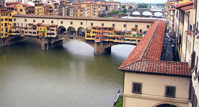 Vasari Corridor over the Ponte Vecchio