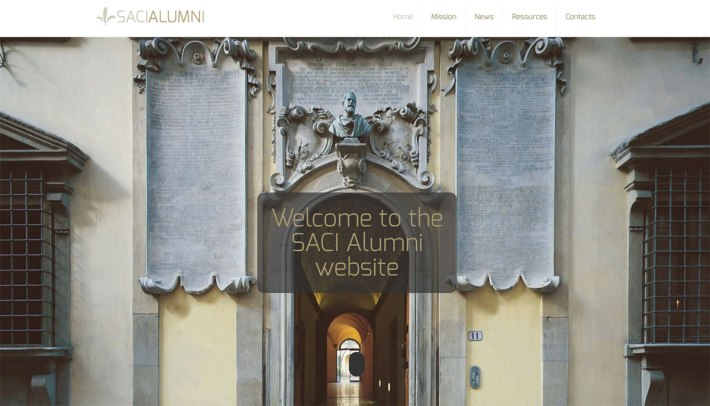 SACI Alumni website