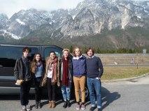 SACI students in Vienna