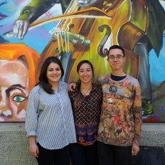 SACI's Theater, Body, and Diversity students at Fili e Colori, Florence